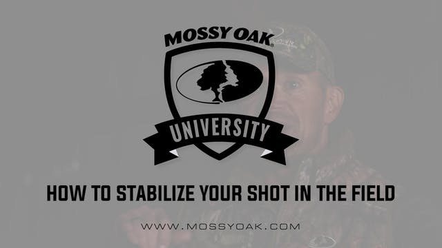 How To Stabilize Your Shot In The Fie...