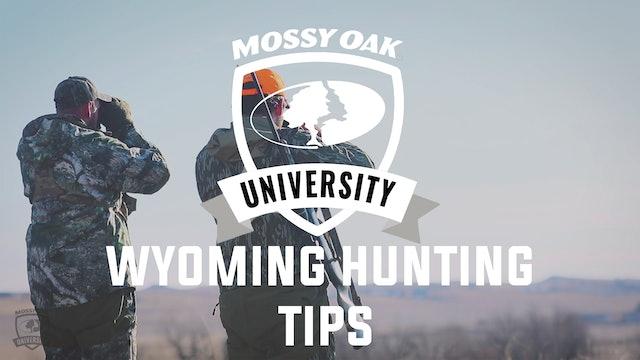 Wyoming Hunting Tips