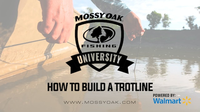 How To Build A Trotline • Mossy Oak University