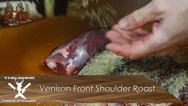Venison Front Shoulder Roast • The Game Processor