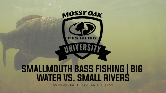 Smallmouth Bass Fishing • Big Water Vs Small Rivers