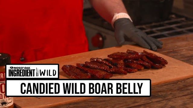 Candied Wild Boar Belly with the BBQ ...