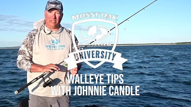 Walleye Tips With Johnnie Candle