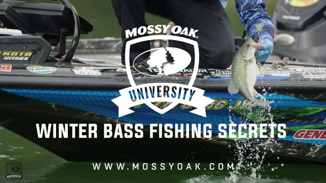 Winter Bass Fishing Secrets - Ott DeFoe Fishing Tips