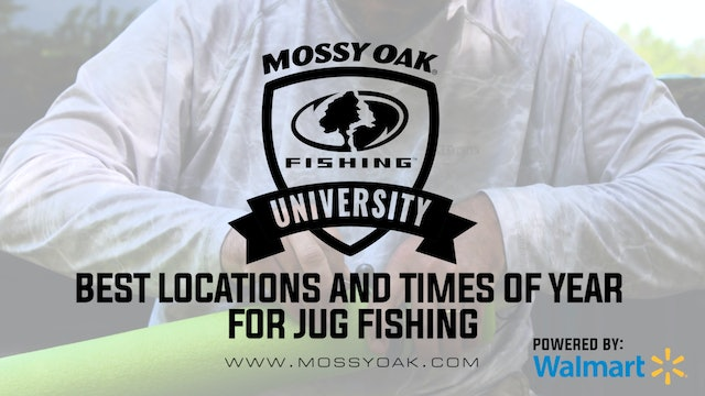 Best Locations and Times of Year for Jug Fishing