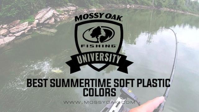 Best Summertime Soft Plastic Colors • Mossy Oak University