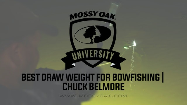 Best Draw Weight for Bow Fishing Bows • Mossy Oak University