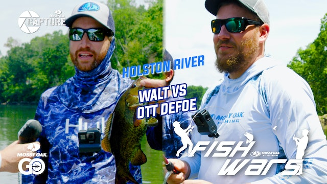 Fish Wars •  Holston River Walt vs Ott DeFoe