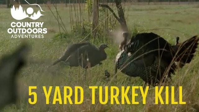 5yrd Kill and a GIANT georgia Turkey • Country Outdoors Adventures