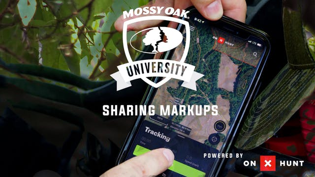 Using Sharing Markups | ON X Hunt App