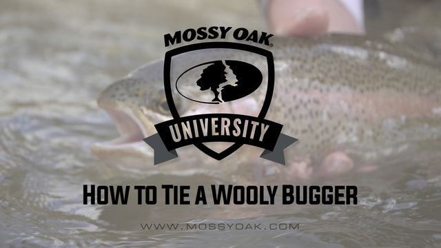 How to Tie a Wooly Bugger • Mossy Oak University