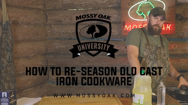 How to Re-Season Cast Iron Cookware