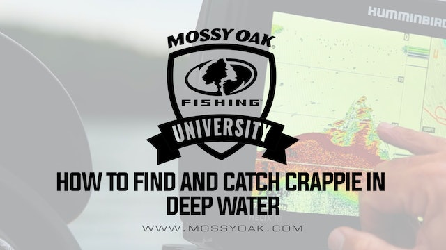 How To Find And Catch Crappie In Deep Water