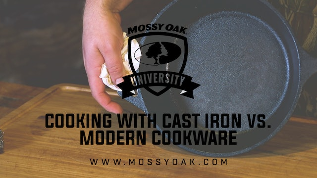Cooking With Cast Iron VS Modern Cookware