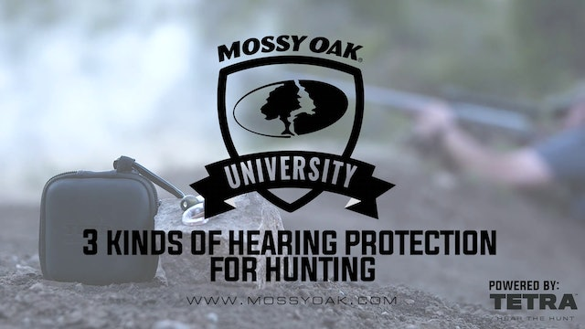 3 Kinds of Hearing Protection for Shooting or Hunting