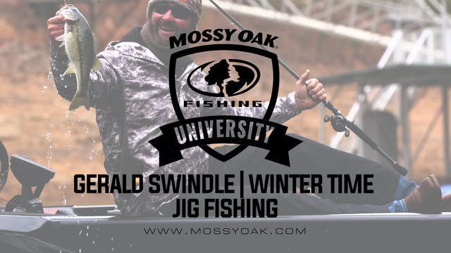 Winter Time Jig Fishing