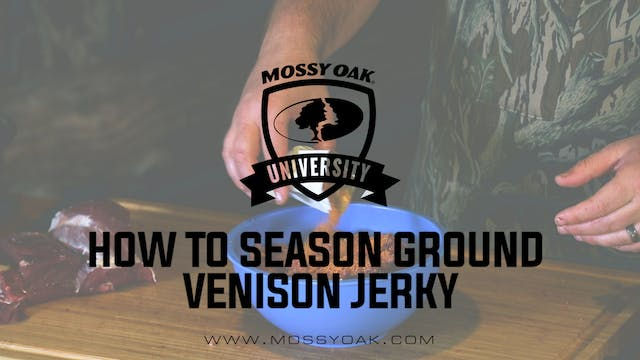 How To Season Ground Venison Jerky