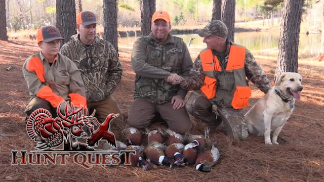 Making memories in Georgia-Quail hunt...