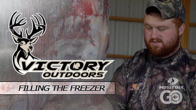 Filling The Freezer • Victory Outdoors