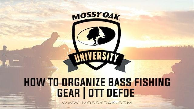 How To Organize Bass Fishing Gear • Ott DeFoe