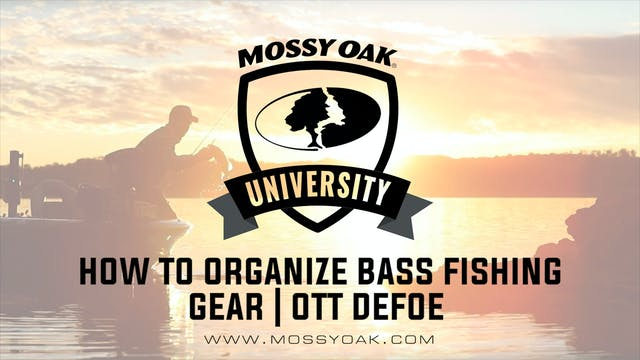 How To Organize Bass Fishing Gear • O...