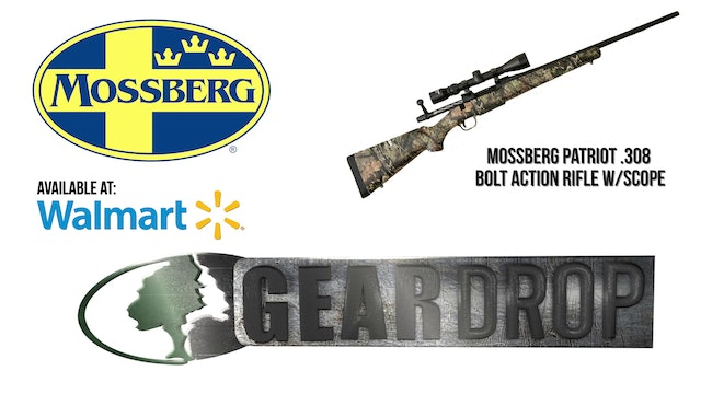 Mossberg Patriot 308 Bolt Action Rifle • Geardrop