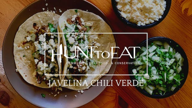 Javelina Chile Verde • Hunt to Eat