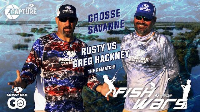 Fish Wars • Grosse Savanne • Rusty vs Greg Hackney Rematch!