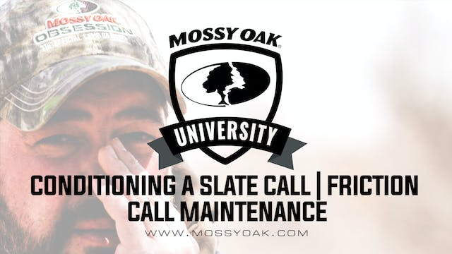 How to Condition a Slate Turkey Call ...