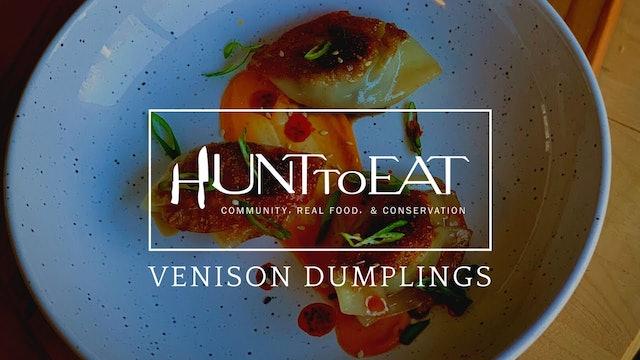Venison Dumplings • Hunt to Eat