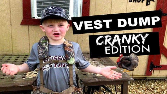 CUZ411 Cranky's Turkey Vest Dump