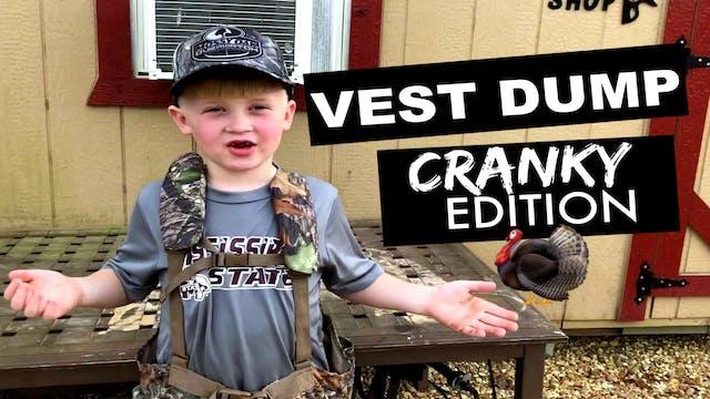 CUZ411 Cranky's Turkey Vest Dump