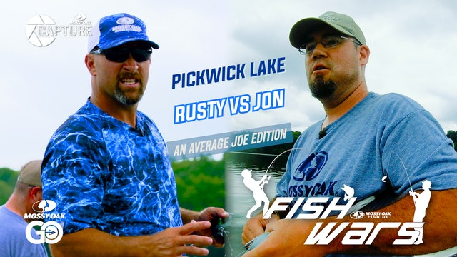 Fish Wars • Pickwick Lake • Rusty vs Jon
