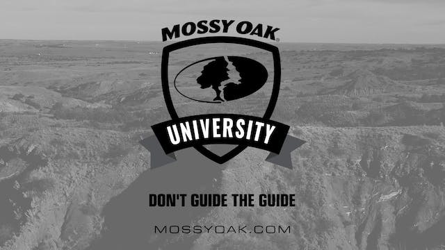 Oklahoma Hunting Tips 05 - Dont Guide...