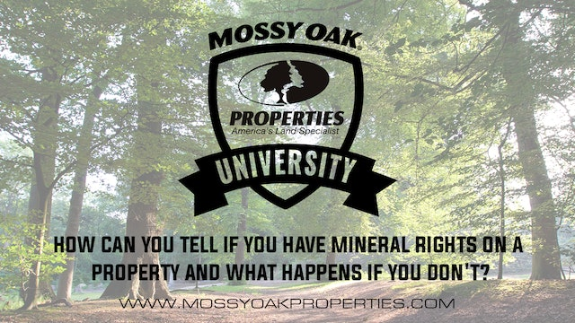 How Can You Tell If You Have Mineral Rights On a Property?