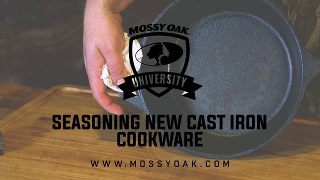Seasoning New Cast Iron Cookware