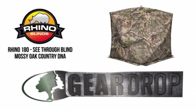 Gear Drop • Rhino 180 See Through Blind