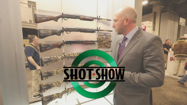 Browning BPS Shotguns • SHOT Show 2020