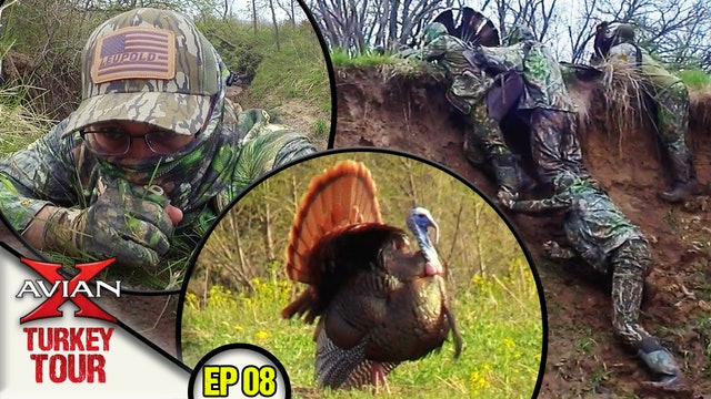 Hunting Iowa Gobblers Any Way We Can! • Avian X Turkey Tour