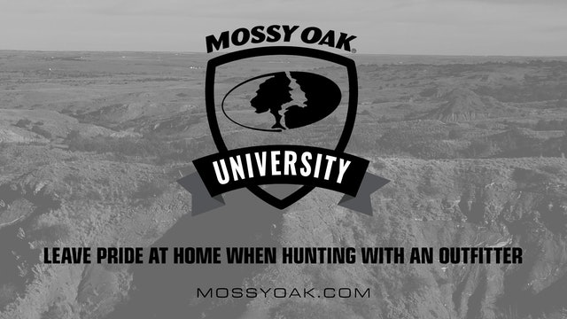Oklahoma Hunting Tips 04 - Leave Pride at Home