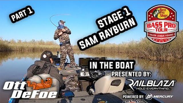In The Boat - Ott DeFoe -  Sam Rayburn p1