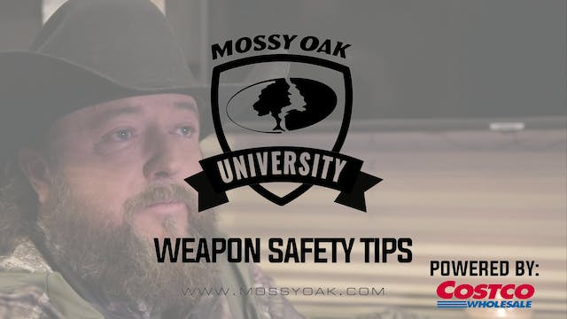 Weapon Safety Tips • Mossy Oak Univer...