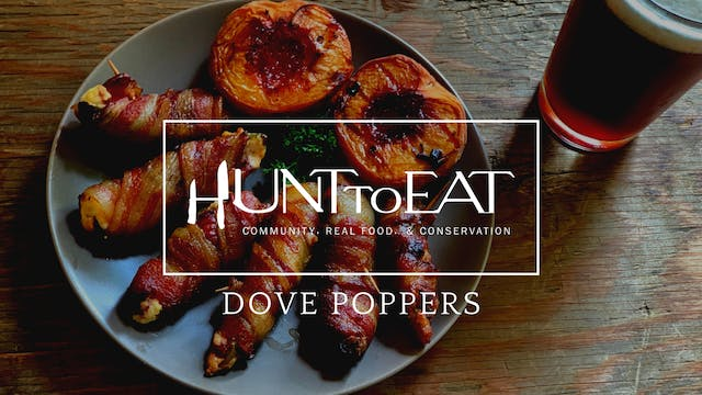 Classic Dove Poppers • Hunt to Eat