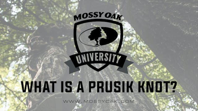 What is a Prusik Knot • Tree Stand Sa...