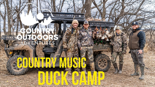 Nashville Goes Duck Hunting • Country Outdoors Adventures