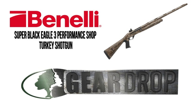 Benelli Super Black Eagle 3 • Geardrop