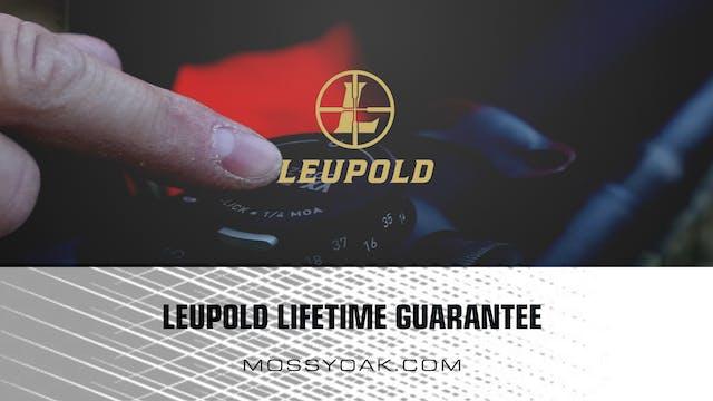 Leupold's Lifetime Guarantee • Produc...