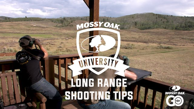 Long Range Shooting Tips • Mossy Oak University