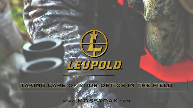 Taking Care of Your Optics in the Field