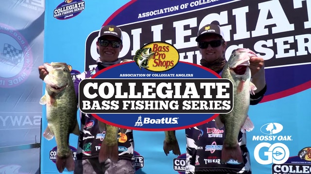 2019 Championship Pt. 1 • Collegiate Bass Fishing